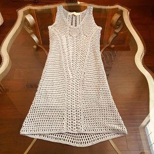 Zara Light Blue Knitwear Dress